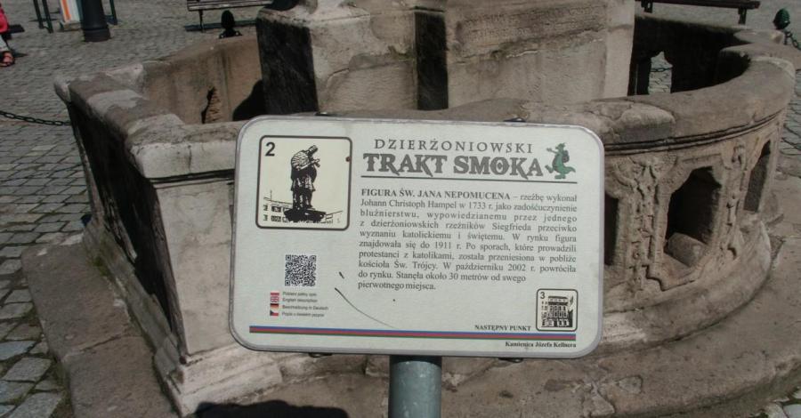 Trakt Smoka w Dzierżoniowie - zdjęcie