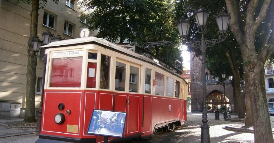 Tramwaj nr 1 w Słupsku - zdjęcie