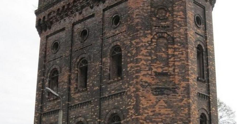 Wieża ciśnień w Łazach, mokunka