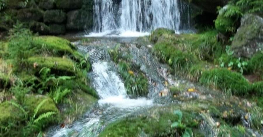 Wodospad Poidło w Świeradowie Zdroju - zdjęcie