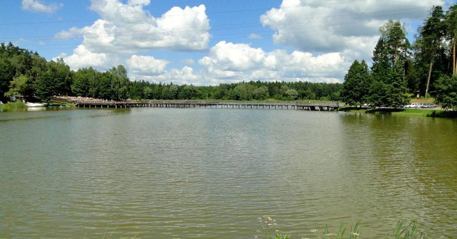 Zalew Czapielówka w Czarnej Białostockiej - zdjęcie