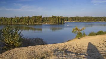 Spacer nad Jeziorem Nakło Chechło - zdjęcie