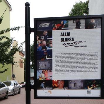 Aleja Bluesa w Białymstoku