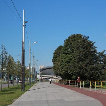 Aleja Korfantego w Katowicach