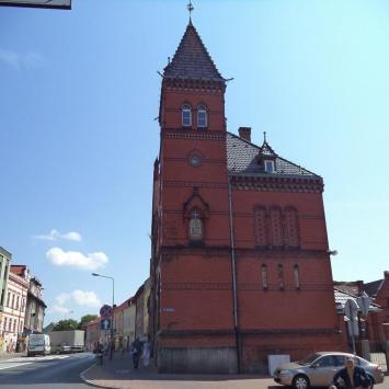 Budynek poczty w Wałczu