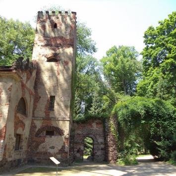 Dom Murgrabiego i łuk w Arkadii