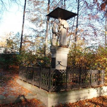 Figura Św. Franciszka w Alwerni