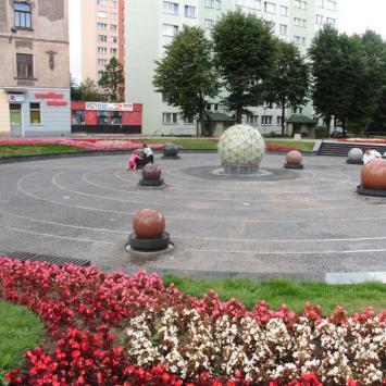 Fontanna w Tarnowie