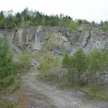Kamieniołom w Bóbrce