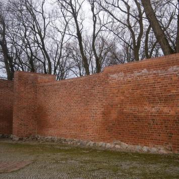 Mury obronne w Koszalinie