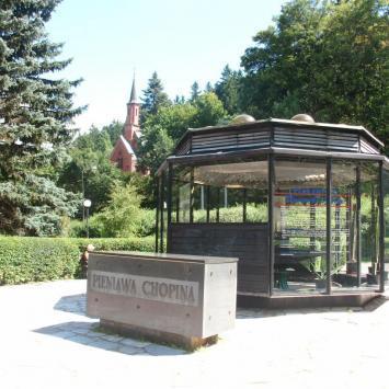 Pieniawa Chopina w Dusznikach Zdroju