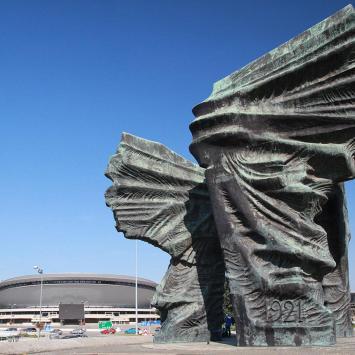 Pomnik Powstańców Śląskich w Katowicach - zdjęcie