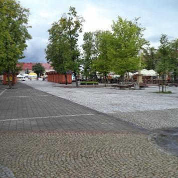 Rynek w Jaśle