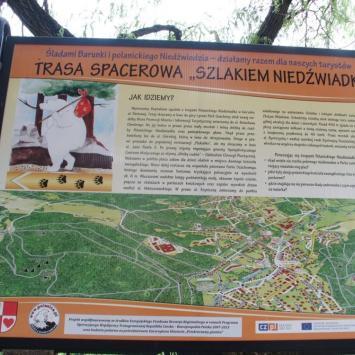 Szlak Niedźwiadka w Polanicy