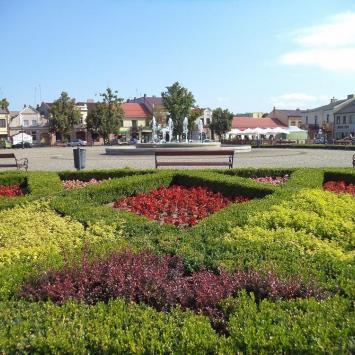 Trójkątny Rynek w Łowiczu