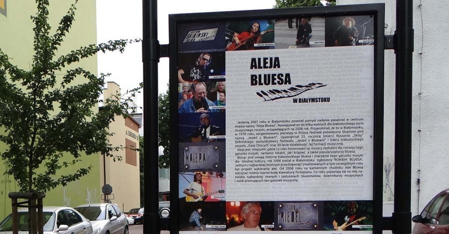 Aleja Bluesa w Białymstoku - zdjęcie
