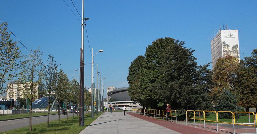 Aleja Korfantego w Katowicach - zdjęcie