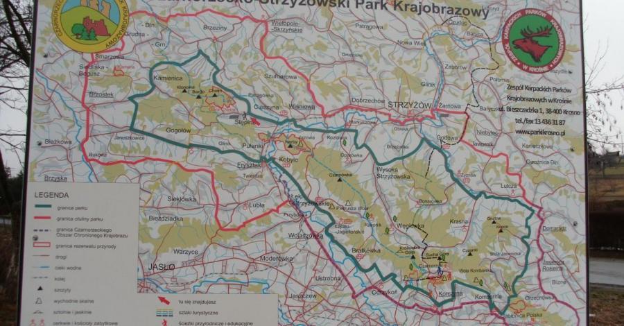 Czarnorzecko -Strzyżowski Park Krajobrazowy - zdjęcie