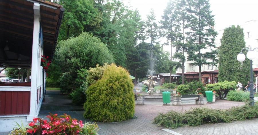 Deptak w Goczałkowicach Zdroju - zdjęcie