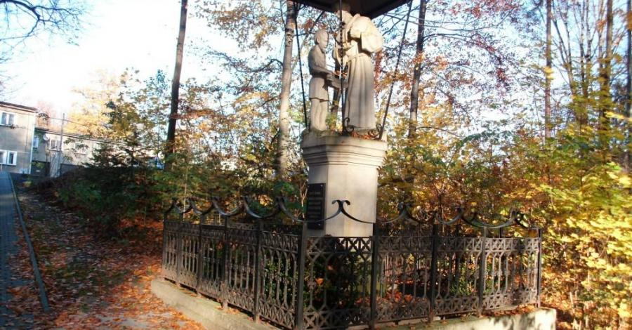 Figura Św. Franciszka w Alwerni - zdjęcie