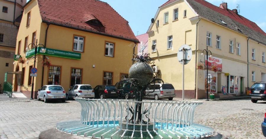 Fontanna w Otmuchowie - zdjęcie