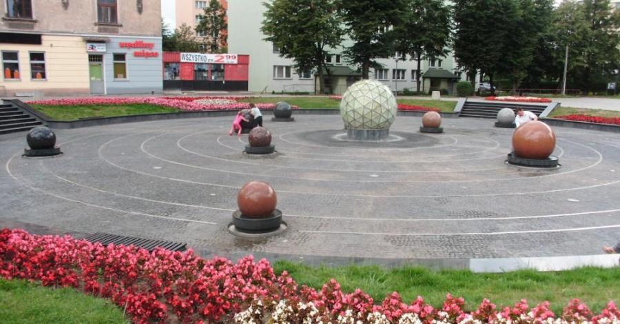Fontanna w Tarnowie - zdjęcie