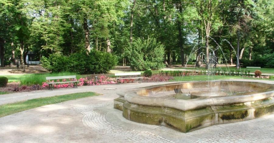 Fontanny w Parku Zdrojowym w Cieplicach - zdjęcie