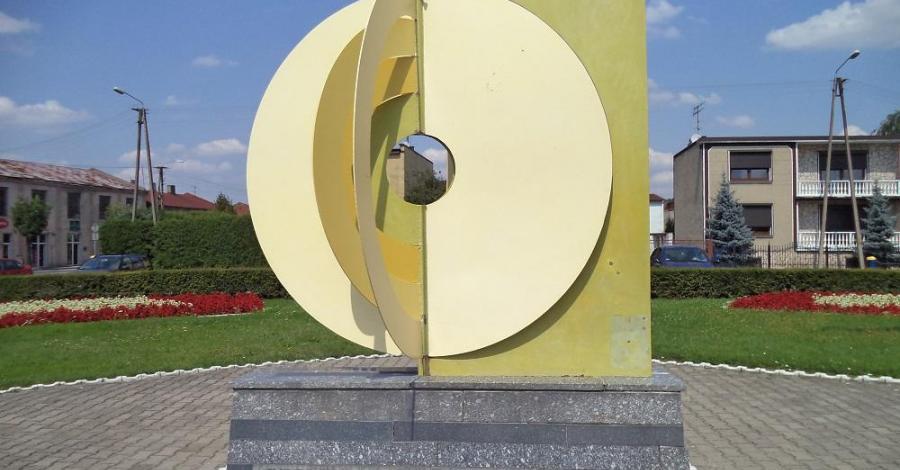 Geometryczny środek Polski - zdjęcie