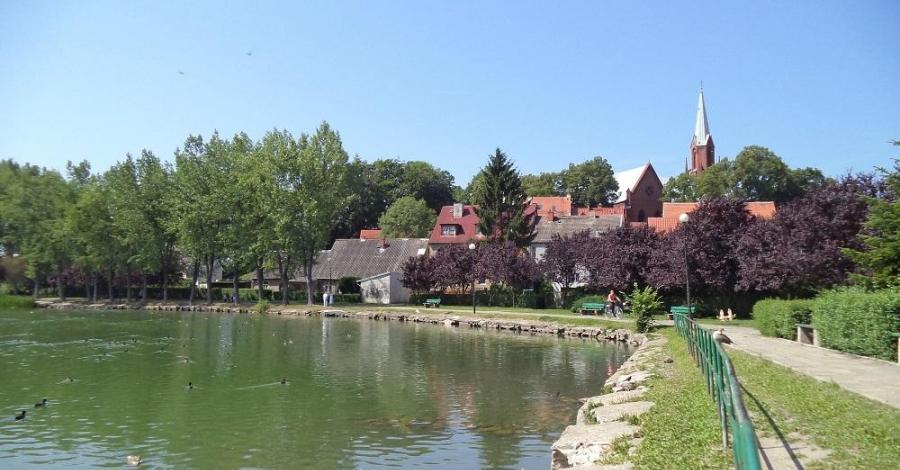 Jezioro Zamkowe w Wałczu - zdjęcie