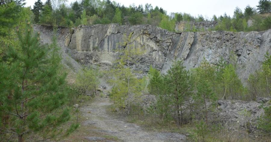 Kamieniołom w Bóbrce - zdjęcie