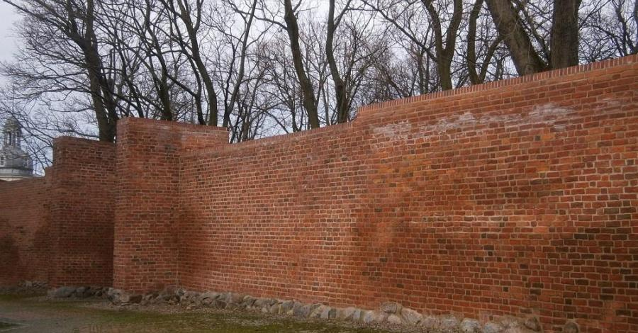Mury obronne w Koszalinie - zdjęcie