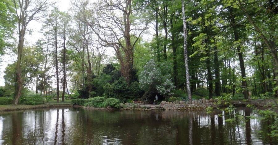Park pałacowy w Chludowie - zdjęcie