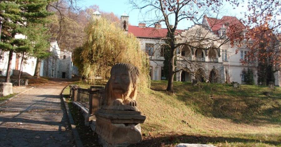 Park w Młoszowej - zdjęcie