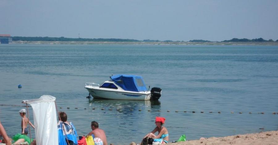 Plaża nad Jeziorem Otmuchowskim - zdjęcie