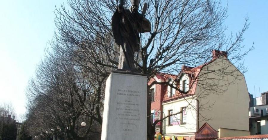 Pomnik Św. Wojciecha w Mikołowie - zdjęcie