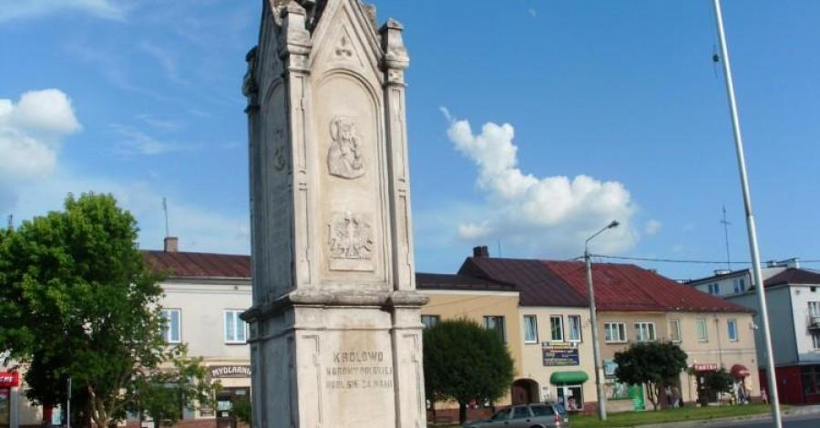 Pomnik Tadeusza Kościuszki w Staszowie, mokunka