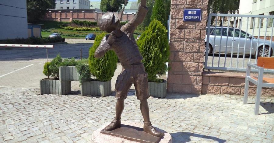 Pomnik urwisa w Rzeszowie - zdjęcie
