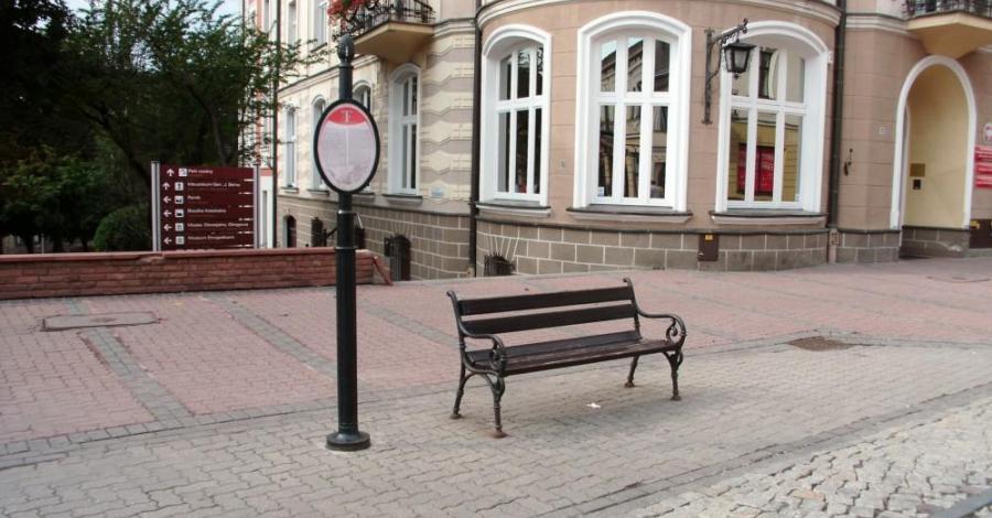 Replika przystanku tramwajowego w Tarnowie - zdjęcie