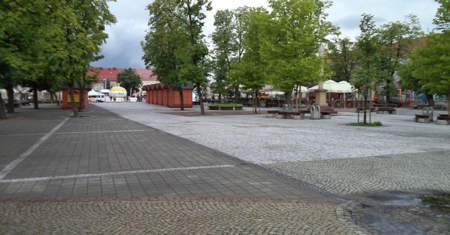 Rynek w Jaśle - zdjęcie