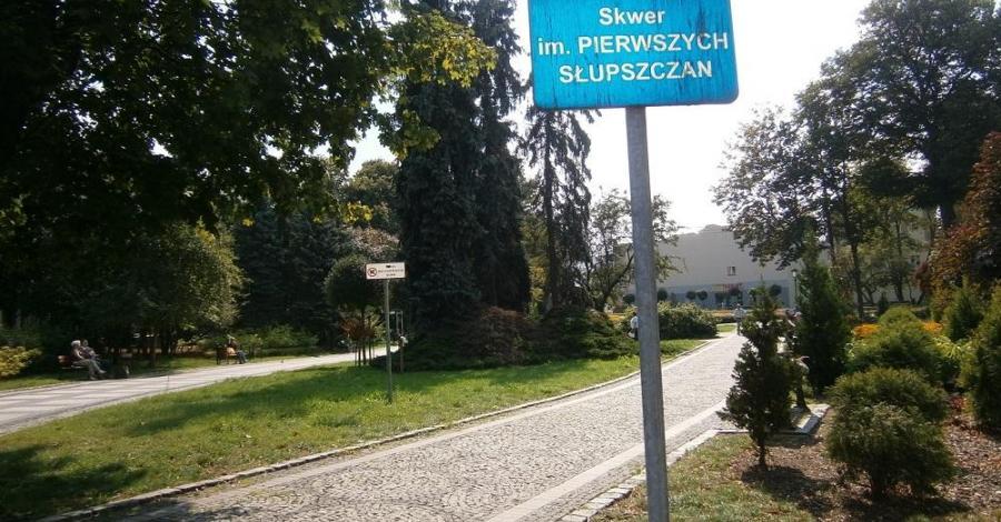 Skwer Pierwszych Słupszczan - zdjęcie