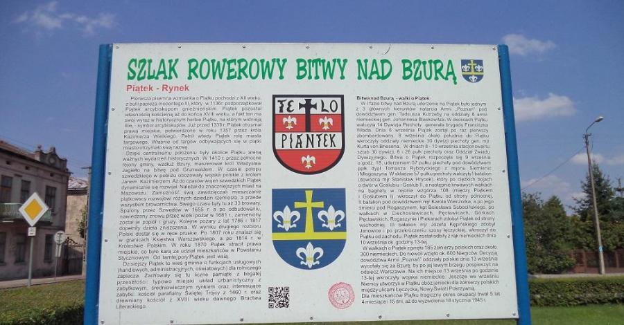 Szlak rowerowy bitwy nad Bzurą - zdjęcie