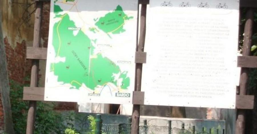 Trasa rowerowa Cisy w Bardzie Śląskim - zdjęcie