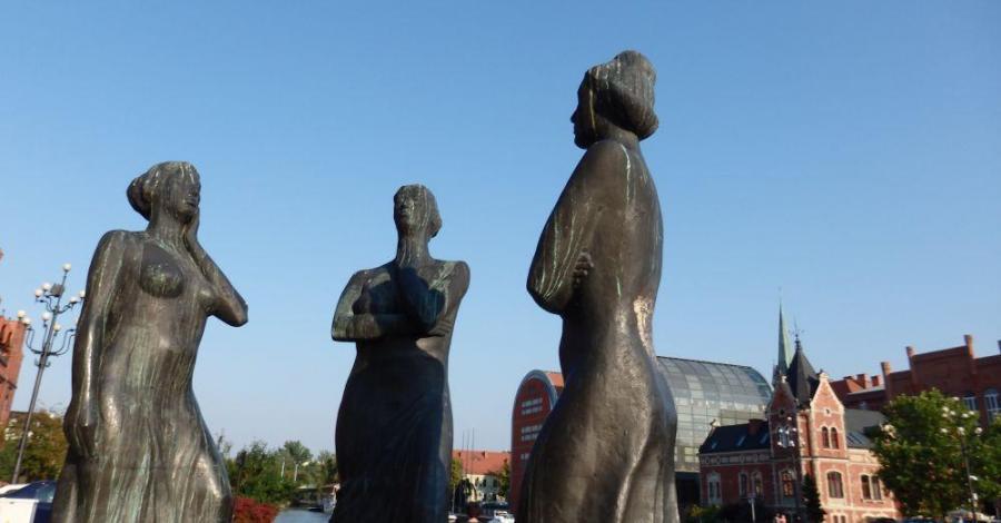 Trzy Gracje w Bydgoszczy - zdjęcie