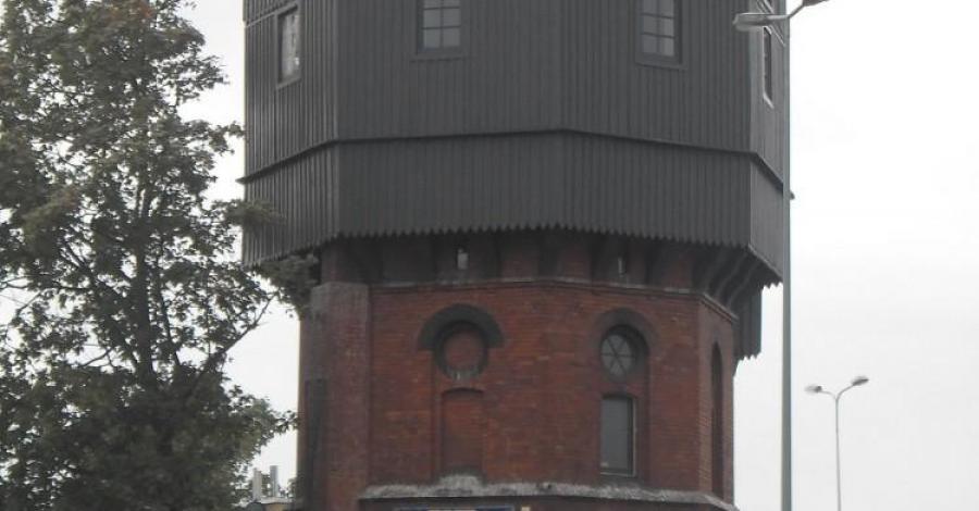 Wieża ciśnień w Słupsku - zdjęcie