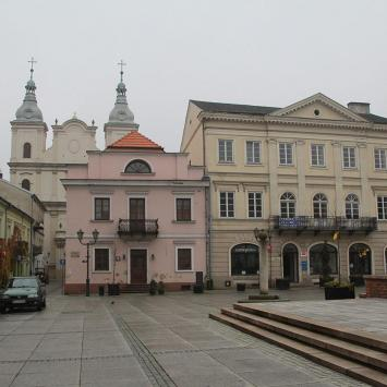 Rynek w Piotrkowie Trybunalskim - zdjęcie