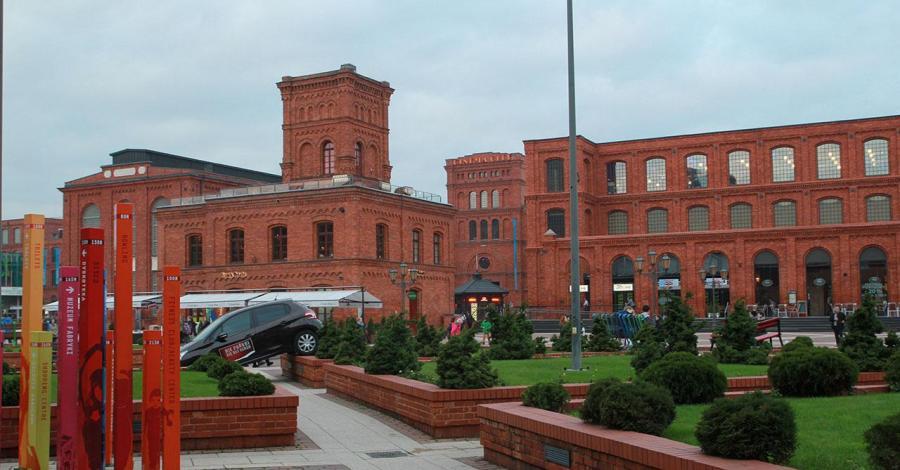 Manufaktura w Łodzi - zdjęcie
