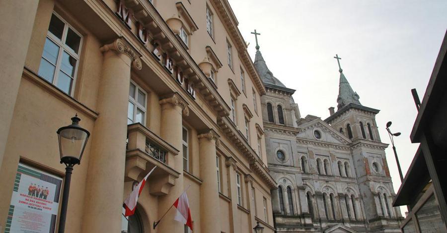Plac Wolności w Łodzi - zdjęcie