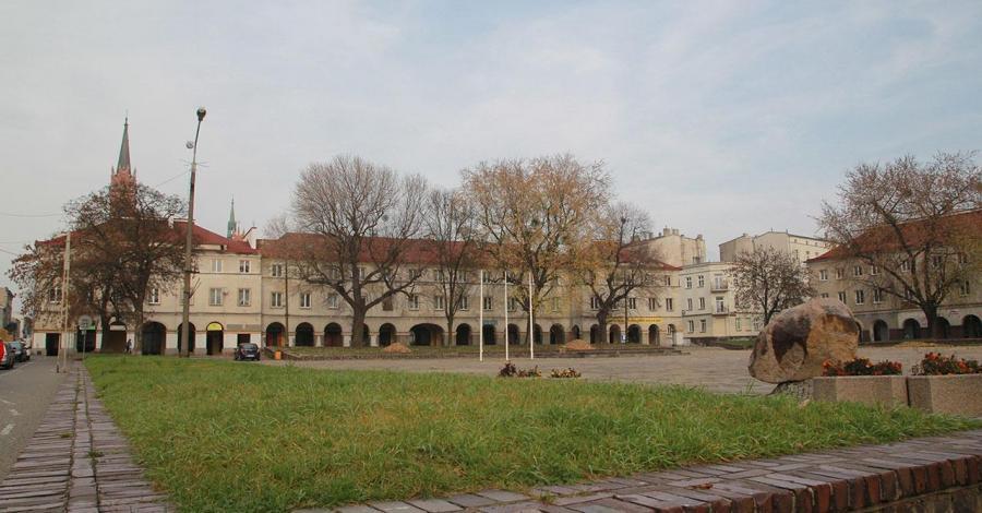 Rynek w Łodzi - zdjęcie