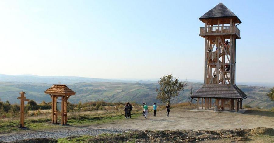 Wieża widokowa w Pruchniku - zdjęcie