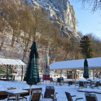 Dolina Będkowska zimowo